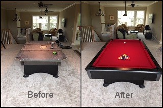 expert billiard table recovering in Tucson content img3